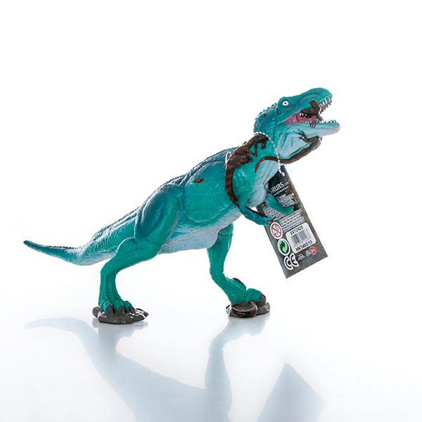 HGL SV12428 Игрушка фигурка Тираннозавр сражается с Велоцирапторами - Игровые наборы