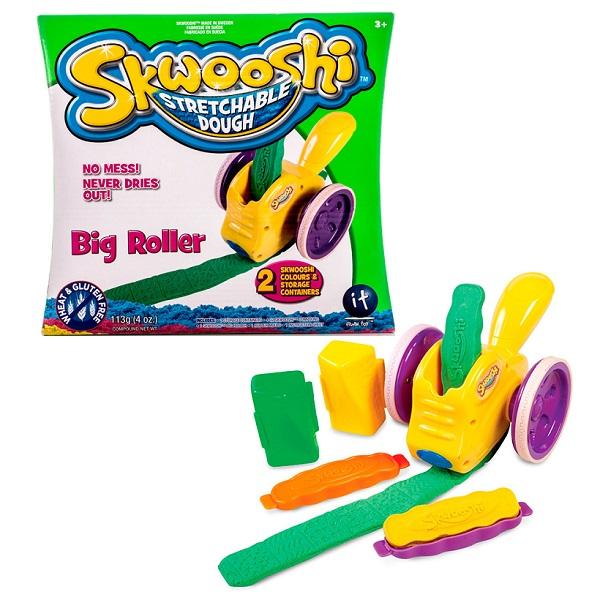 Купить Skwooshi S30002 Сквуши Набор для творчества Большой роллер - масса для лепки и аксессуары, Пластилин Skwooshi
