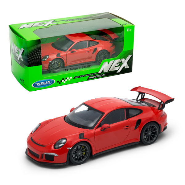 Купить Welly 24080 Велли Модель машины 1:24 Porsche 911 GT3 RS, Игрушечные машинки и техника Welly