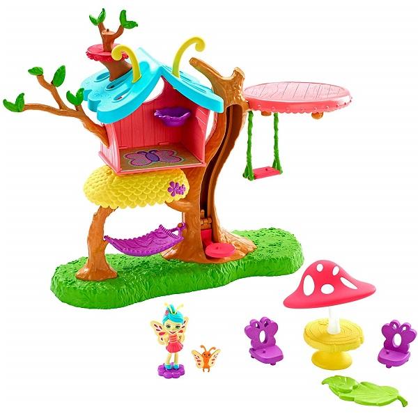 Купить Mattel Enchantimals GBX08 Домик бабочек , Игровые наборы и фигурки для детей Mattel Enchantimals