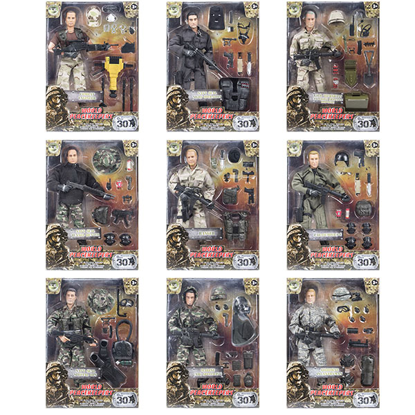 """Игровые наборы и фигурки для детей World Peacekeepers MC90200 Игровой набор """"Профессионал"""" 1:6 (в ассортименте) фото"""