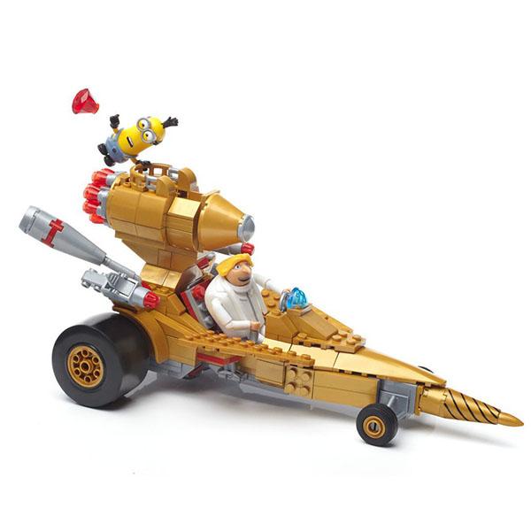 Купить Mattel Mega Bloks FDX84 Мега Блокс Гадкий Я: машина Дрю, Конструктор Mattel Mega Bloks