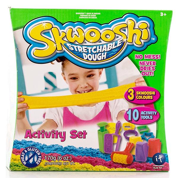 Купить Skwooshi S30004 Сквуши Набор для творчества игровой - масса для лепки и аксессуары, Пластилин Skwooshi