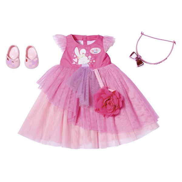 Купить Zapf Creation Baby born 827-178 Бэби Борн Бальное платье Делюкс, Одежда для куклы Zapf Creation