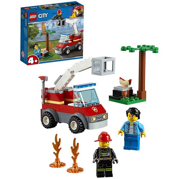 Купить Lego City 60212 Конструктор Лего Город Пожарные: Пожар на пикнике, Конструкторы LEGO