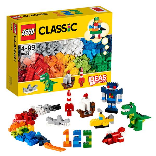 Купить LEGO Classic 10693 Конструктор ЛЕГО Классик Набор для творчества - яркие цвета, Конструктор LEGO