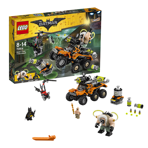 Lego Batman Movie 70914 Конструктор Лего Фильм Бэтмен: Химическая атака Бэйна - Конструкторы LEGO