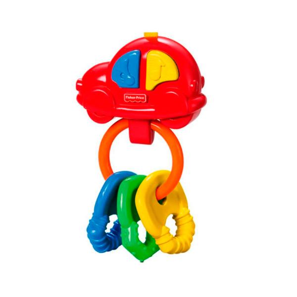 """Mattel Fisher-Price G6648 Фишер Прайс Погремушка-прорезыватель """"Музыкальная машинка"""""""