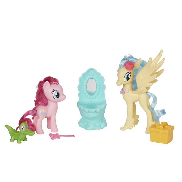 Купить Hasbro My Little Pony B9160/E0995 Игровой набор Уроки Дружбы Пинки Пай и Принцесса Небесная Звезда, Игровые наборы и фигурки для детей Hasbro My Little Pony