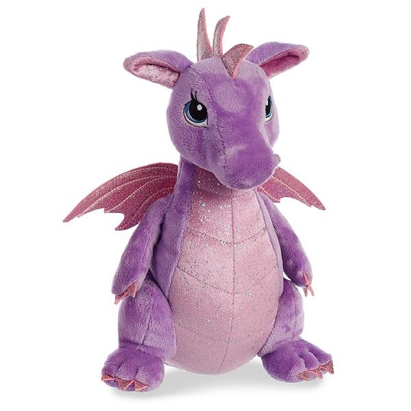 Купить Aurora 170415B Cuddly Friends Дракон фиолетовый, 30 см, Мягкие игрушки Aurora