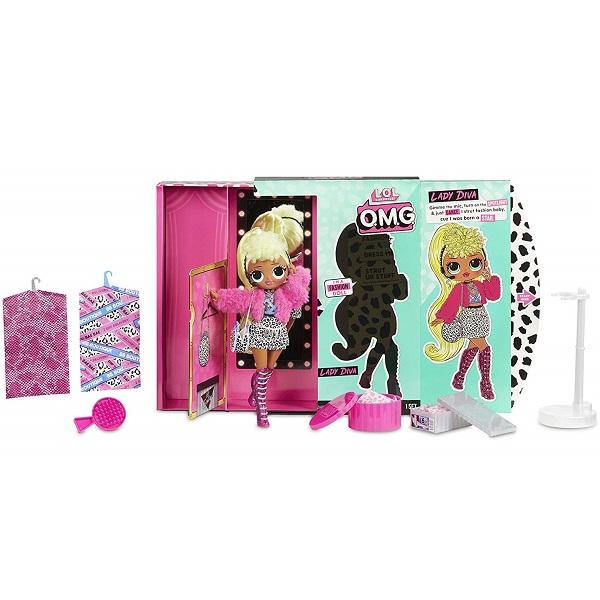 Игровые наборы и фигурки для детей L.O.L. Surprise 560562 Кукла OMG Lady Diva 23 см фото