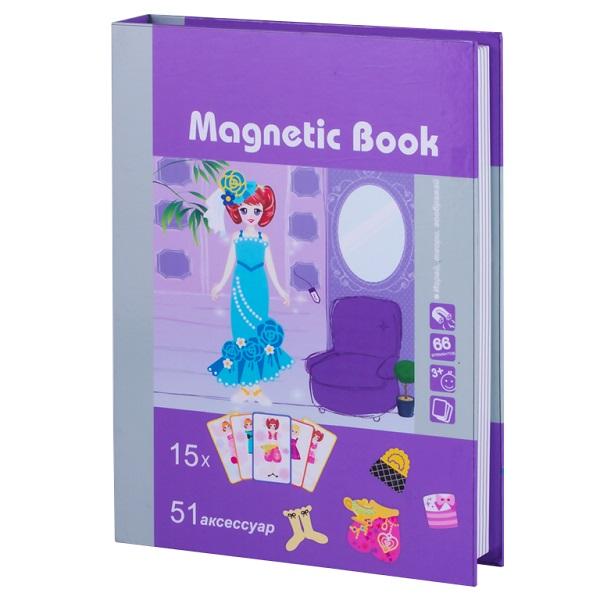 Купить Magnetic Book TAV026 Развивающая игра Кокетка , Настольные игры Magnetic Book