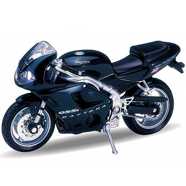 Купить Welly 12176P Велли Модель мотоцикла 1:18 TRIUMPH Daitona 955I, Мотоцикл Welly