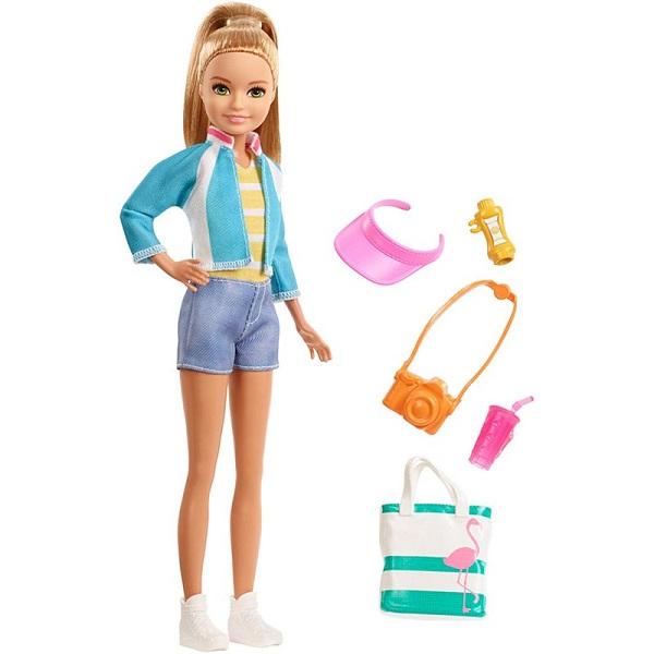 Mattel Barbie FWV16 Барби Стейси из серии Путешествия - Куклы и аксессуары