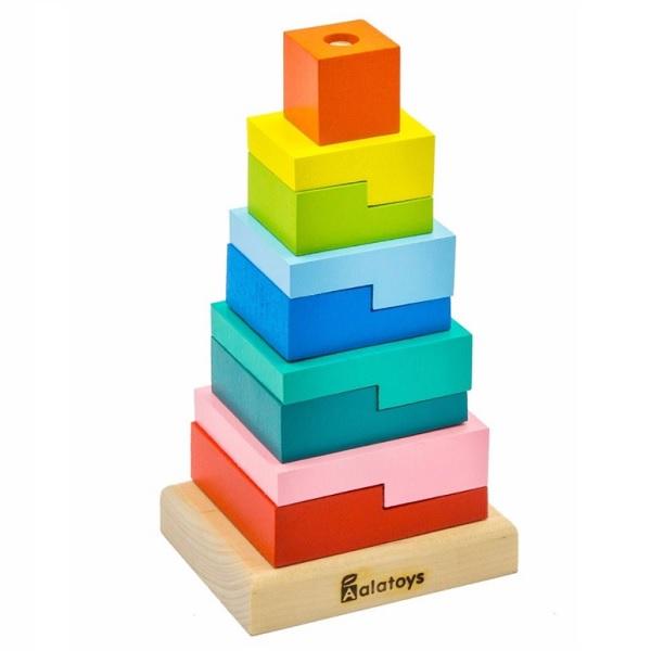 Купить Alatoys 01ALLA Пирамидка Ступеньки , Деревянные игрушки Alatoys