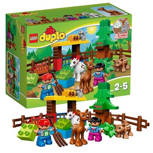 Lego Duplo 10582 Лего Дупло Лесные животные