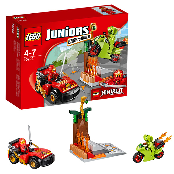 Конструктор LEGO - Джуниорс, артикул:126589