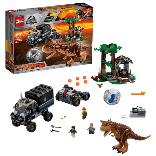 Lego Jurassic World 75929 Конструктор Лего Мир Юрского Периода Побег в гиросфере от карнотавра, арт:154068 - Мир Юрского Периода, Конструкторы LEGO