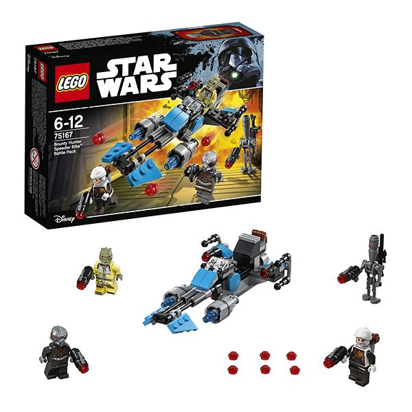 Купить Lego Star Wars 75167 Лего Звездные Войны Спидер охотника за головами, Конструктор LEGO
