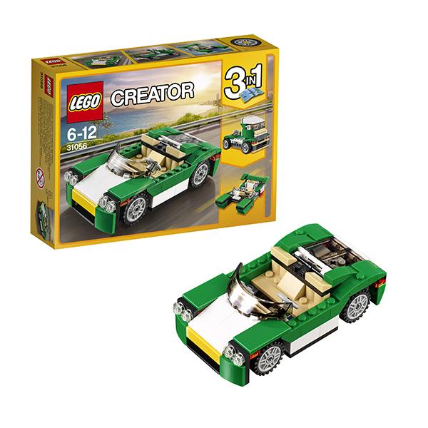 Lego Creator 31056 Конструктор Лего Криэйтор Зелёный кабриолет, арт:145731 - Криэйтор, Конструкторы LEGO