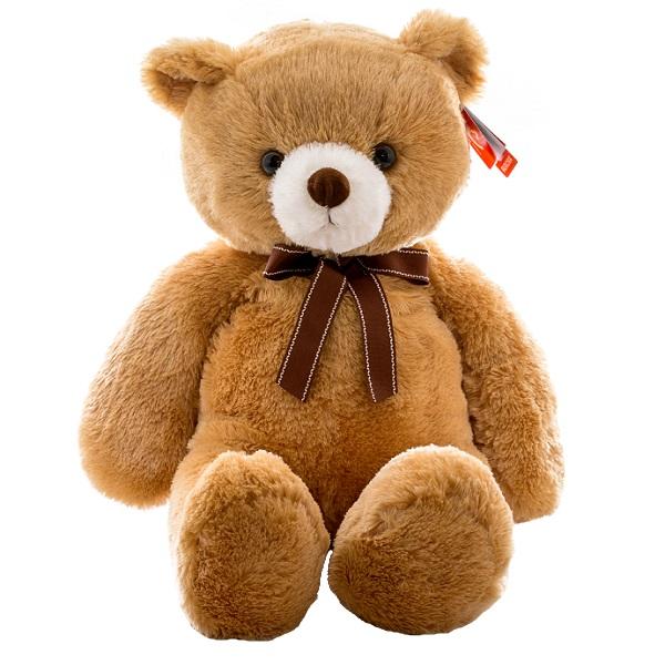 Купить Aurora 15-324 Аврора Медведь коричневый, 65 см, Мягкая игрушка Aurora