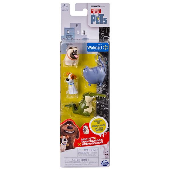 Купить Secret Life of Pets 72818 Тайная жизнь домашних животных Мини-фигурки 4 шт (в ассортименте), Набор фигурок Secret Life of Pets