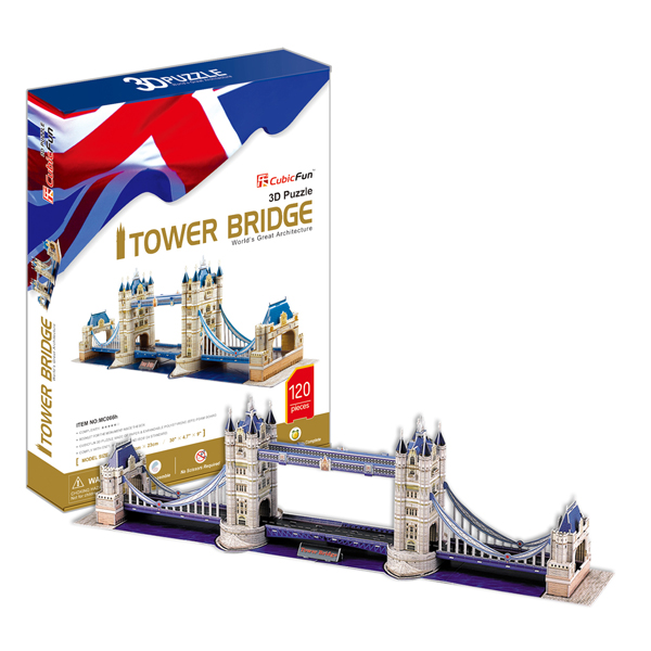 Купить Cubic Fun MC066h Кубик фан Тауэрский Мост (Великобритания), 3D пазлы Cubic Fun