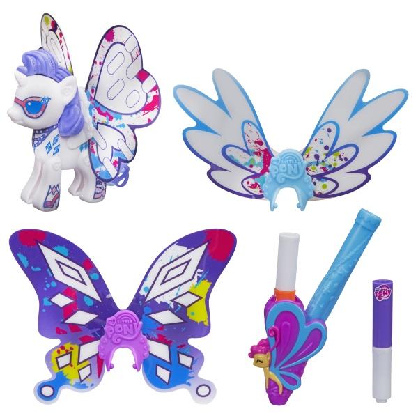 Купить Hasbro My Little Pony B3590 Создай свою пони с крыльями (в ассортименте), Кукла Hasbro My Little Pony