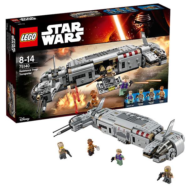 Lego Star Wars 75140 Конструктор Лего Звездные Войны Военный транспорт Сопротивления