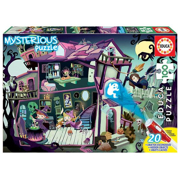 Купить Educa 18611 Игрушка головоломка-пазл 100 деталей Мистический дом