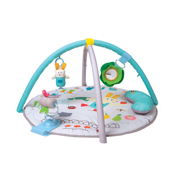 Купить Taf Toys 12195 Таф Тойс Круглый развивающий коврик (с подушкой) 90*90, Развивающие игрушки для малышей TAF TOYS