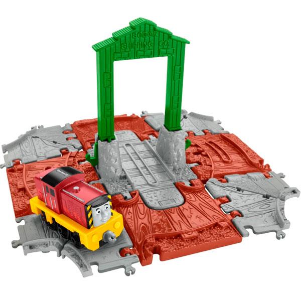 Наборы игрушечных железных дорог, локомотивы, вагоны Mattel Thomas & Friends - Железные дороги и паровозики, артикул:153144