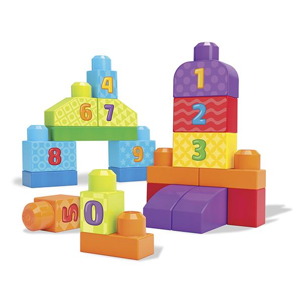 Mattel Mega Bloks DLH85 Мега Блокс Набор обучающего конструктора