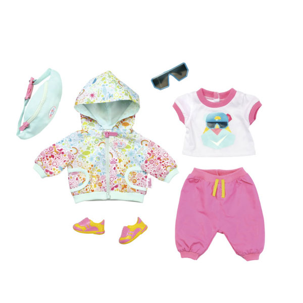 Zapf Creation Baby born 827-192 Бэби Борн Одежда для велосипедной прогулки Делюкс - Куклы и аксессуары