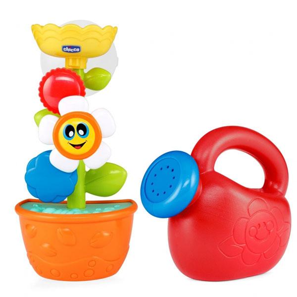 Купить CHICCO TOYS 92230 Bath Flower игрушка для ванны Лейка с цветком , Детские игрушки для ванной CHICCO TOYS