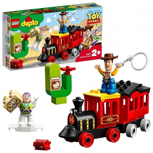 Купить LEGO DUPLO 10894 Конструктор ЛЕГО ДУПЛО Поезд История игрушек, Конструкторы LEGO