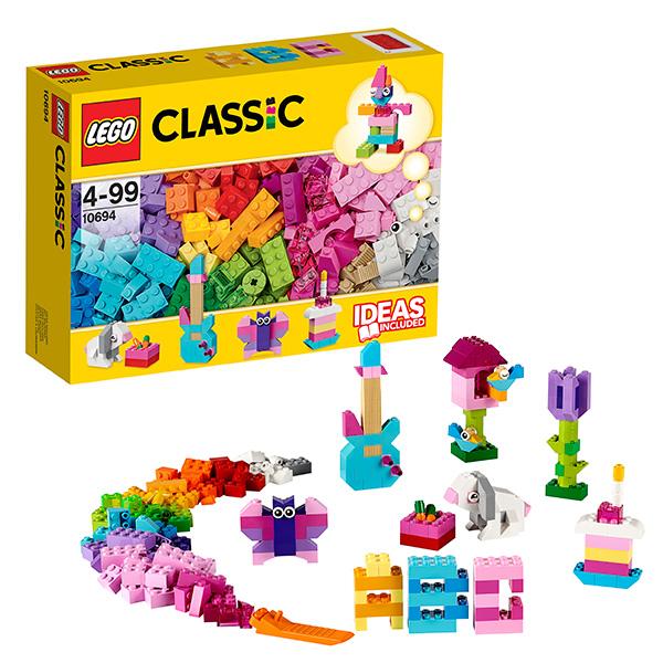 Купить LEGO Classic 10694 Конструктор ЛЕГО Классик Набор для творчества - пастельные цвета, Конструктор LEGO