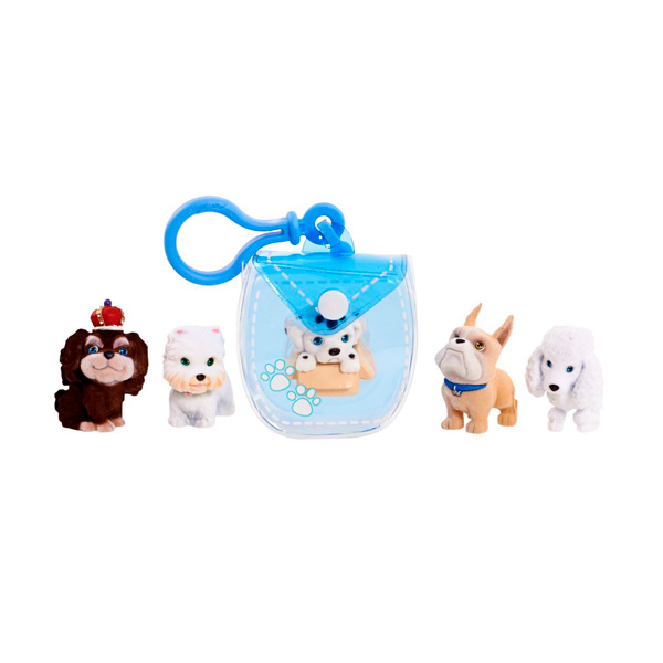 Купить Puppy In My Pocket 48180-T Щенок в моем кармане Брелок-сумочка (голубая), Аксессуар Puppy In My Pocket