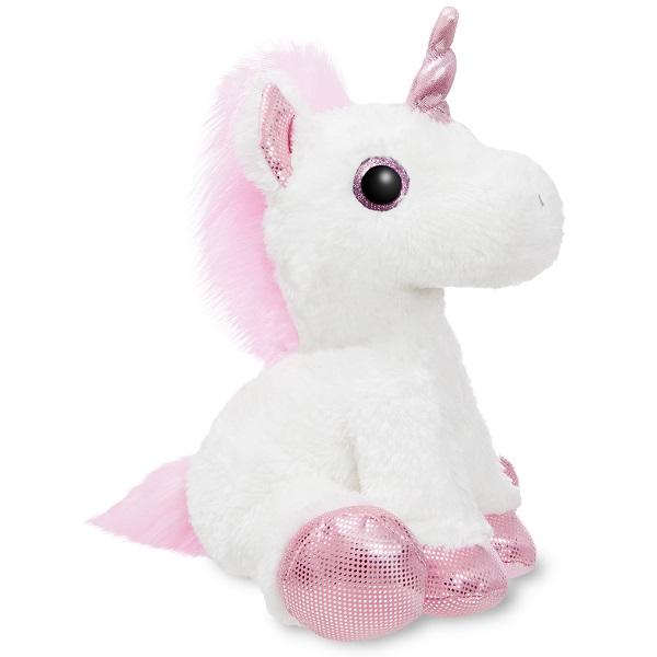 Мягкие игрушки Aurora 161257F Аврора Единорог розовый 30 см фото