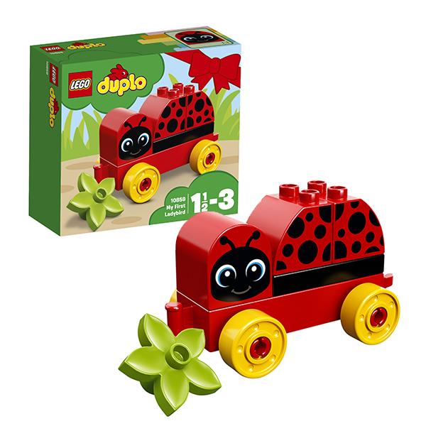 Купить Lego Duplo 10859 Лего Дупло Моя первая божья коровка, Конструкторы LEGO