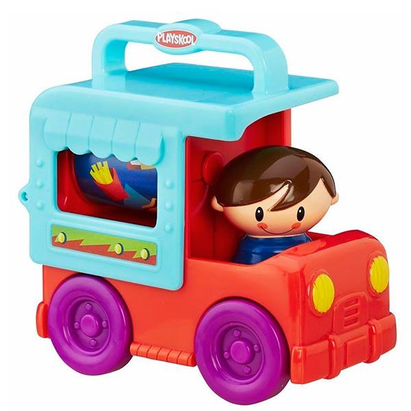 Купить Hasbro Playskool B4533 Возьми с собой Грузовичок Сложи и кати (в ассортименте), Машинка Hasbro Playskool