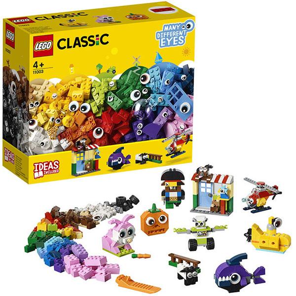 Купить LEGO Classic 11003 Конструктор ЛЕГО Классик Кубики и глазки, Конструкторы LEGO