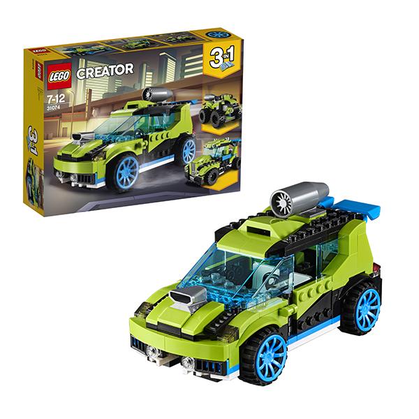 Lego Creator 31074 Конструктор Лего Криэйтор Суперскоростной раллийный автомобиль, арт:152445 - Криэйтор, Конструкторы LEGO