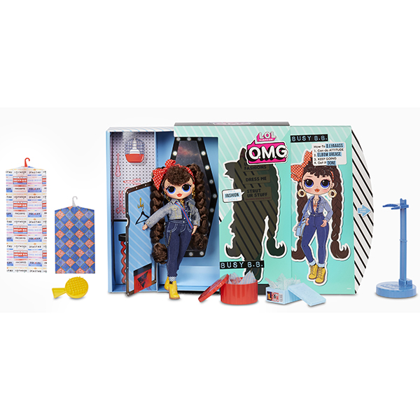 Купить L.O.L. Surprise 565116 Кукла ЛОЛ OMG Busy B.B. 2 волна 23 см., Куклы и пупсы LOL