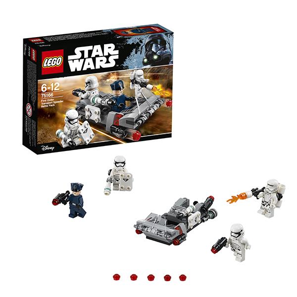 Lego Star Wars 75166 Конструктор Лего Звездные Войны Спидер Первого ордена, арт:148576 - Звездные войны, Конструкторы LEGO
