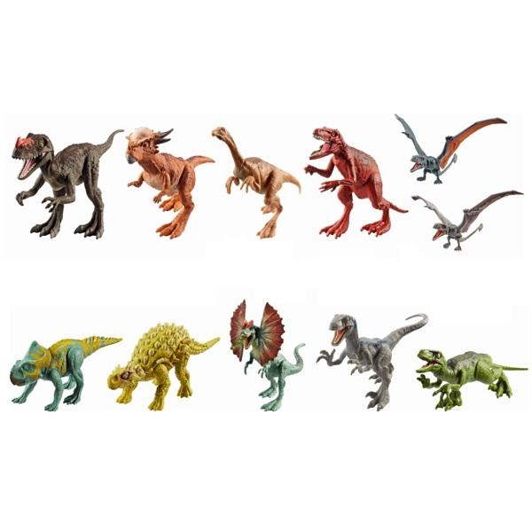 Купить Mattel Jurassic World FPF11 Фигурки динозавров Атакующая стая (в ассортименте), Игровые наборы и фигурки для детей Mattel Jurassic World
