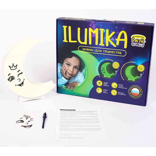 """Ночники Рисуй светом Рисуй светом 927R Ночник ILUMIKA """"Луна"""" набор для творчества по цене 1 799"""