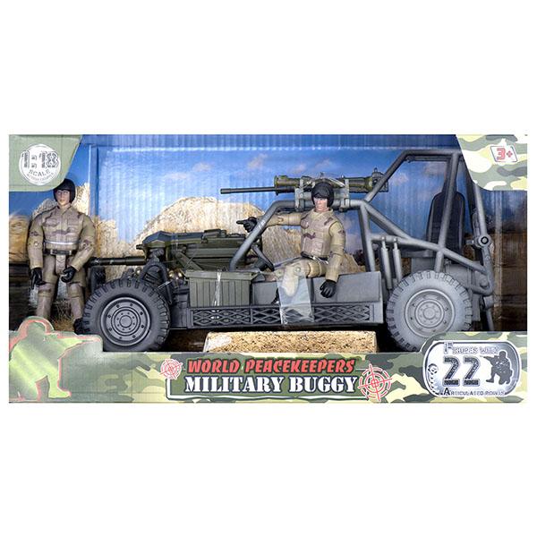 Купить World Peacekeepers MC77022 Игровой набор Багги 2 фигурки, 1:18, Игровые наборы и фигурки для детей World Peacekeepers