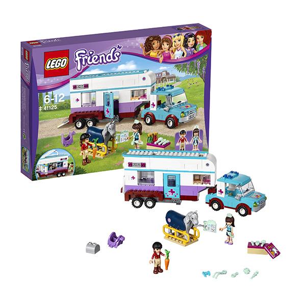 Lego Friends 41125 Конструктор Лего Подружки Ветеринарная машина для лошадок