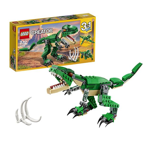 Купить LEGO Creator 31058 Конструктор ЛЕГО Криэйтор Грозный динозавр, Конструктор LEGO